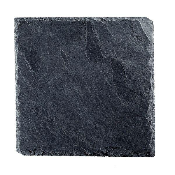 Schieferplatte B25 x T25 cm