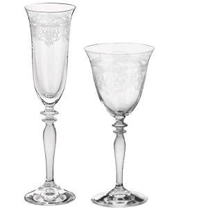 Glasset Toskana 2teilig