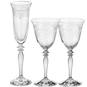 Glasset Toskana 3teilig