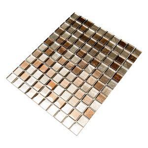 Untersetzer Mosaik Braun B30 x T30 cm