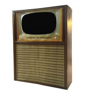 Display Blende Retro TV