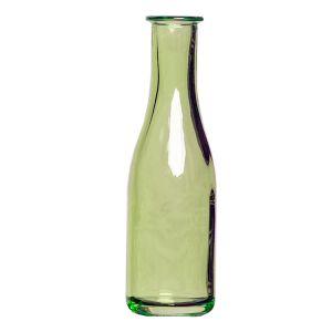 Flaschenvase  Grün H20 x D5,5 cm
