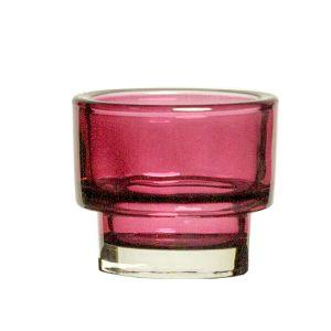 Teelichthalter Violett D8 cm