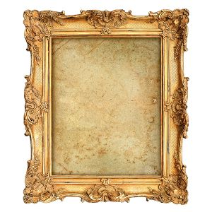 Rahmen Gold B75 x T46 cm