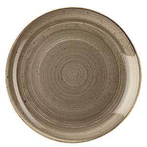Teller Stonecast D33 cm grau