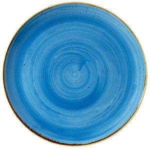 Teller Stonecast D33 cm Blau