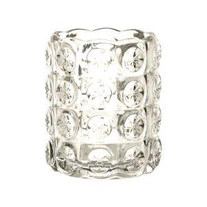 Windlicht Kristall H8 cm