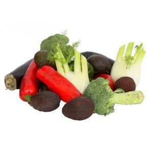 Ladung mediterranes Gemüse
