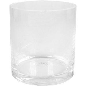 Glaszylinder D9 x H10