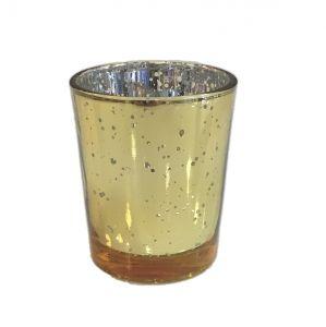 Teelichterhalter Mercury Gold H6,8 cm