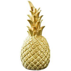 Ananas Gold H25 cm
