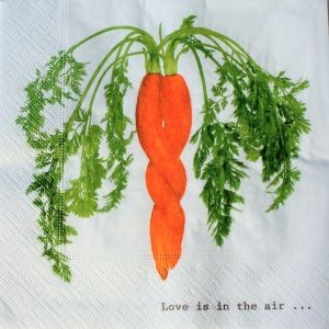 Motivserviette Gemüse B33 cm