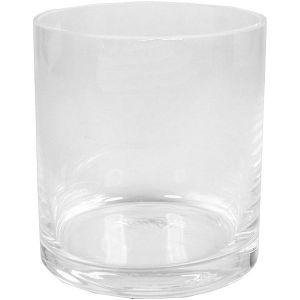 Glaszylinder D9 x H10 cm