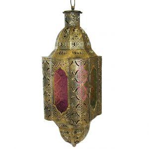orientalische Laterne Gold