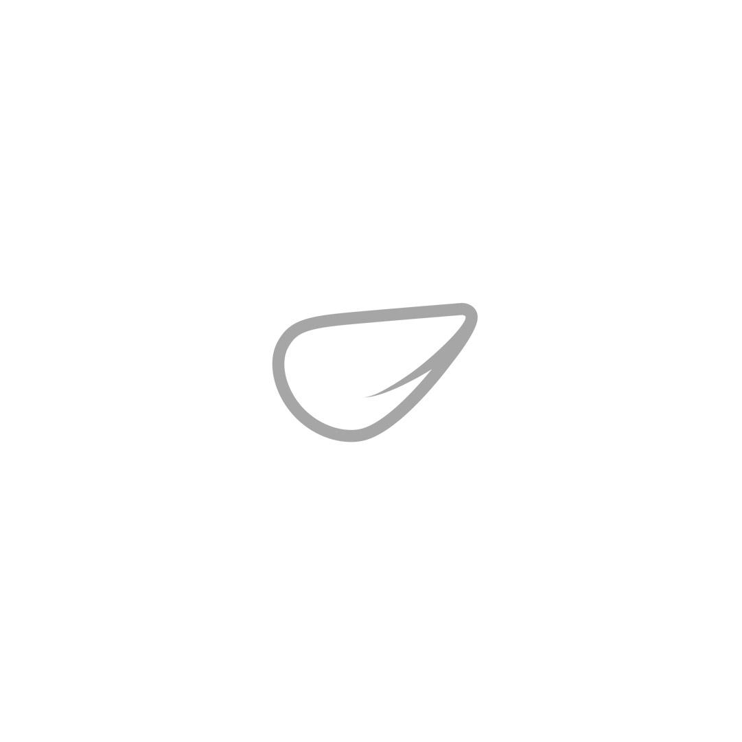 Platzteller Glas Silberrand D32 cm