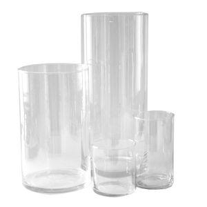 Zylindervasen-Kombination 4teilig