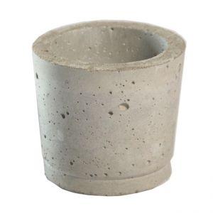 Teelichthalter Beton D6 x H6 cm