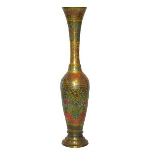 Vase Oriental Gold D9 x H41 cm