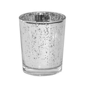 Teelichterhalter Mercury Silber H6,8 cm