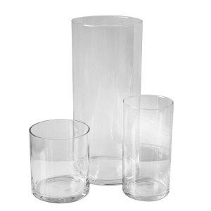 Zylindervasen-Kombination 3teilig