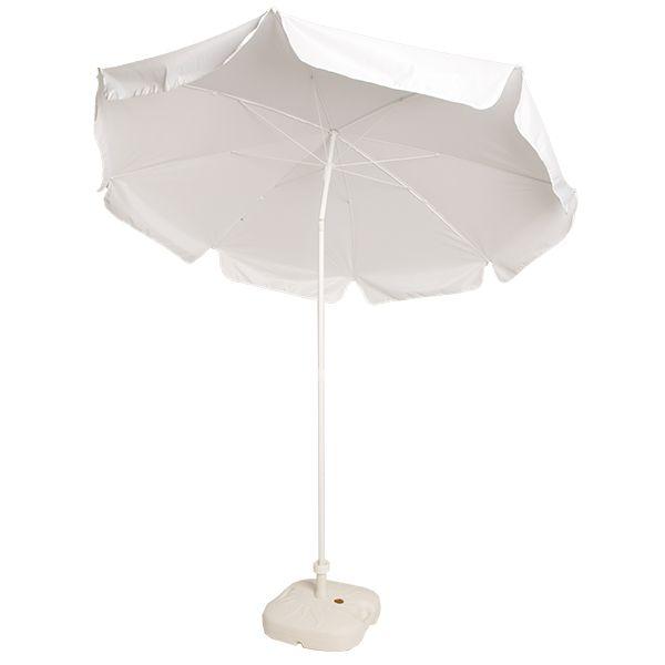 Sonnenschirm mit Fuß D190 cm