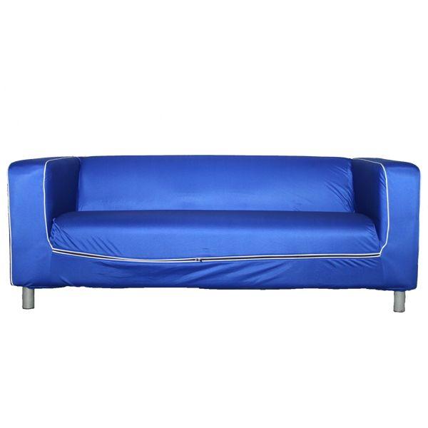 Sofa 3 Sitzer Blau