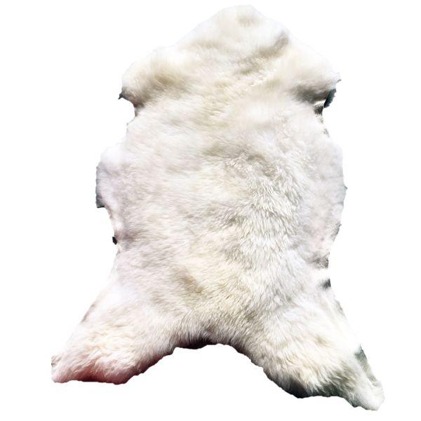 Lammfell Weiß B120 x T50 cm