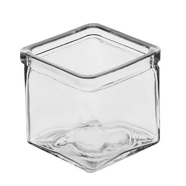 Cube-Vase Rustic B12 x T12 cm